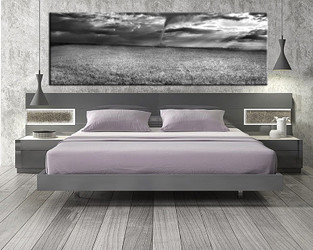 1 piece canvas art print, bedroom art, scenery multi panel art, grey scenery huge pictures, scenery artwork