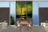 3 piece multi panel canvas, dining room canvas photography, green ocean wall art, bird ocean artwork