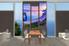 3 piece canvas wall art, ocean canvas print, blue ocean art, dining room canvas photography