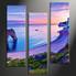 home decor art, 3 piece canvas art prints, blue ocean canvas print, ocean group canvas, ocean pictures