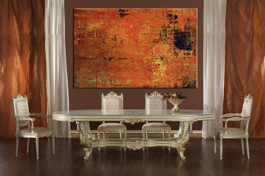 dining room art, 1 piece canvas art prints, orange abstract canvas photography, abstract canvas art prints, abstract huge pictures