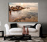living room wall art,1 piece wall art, ocean multi panel art, ocean large pictures, ocean photo canvas