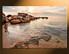 home decor,1 piece canvas art prints, brown ocean photo canvas, ocean canvas photography, ocean large pictures