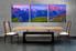 dining room art, 3 piece canvas art prints, landscape orange canvas photography, landscape canvas art prints, landscape huge pictures