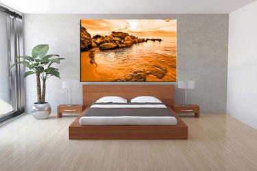 1 piece canvas print, bedroom canvas wall art, ocean pictures, ocean canvas photography, ocean art