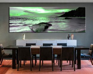 1 piece large canvas, dining room artwork, ocean canvas wall art, ocean group canvas, ocean photo canvas