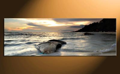 home decor,1 piece canvas art prints, grey ocean photo canvas, ocean canvas photography, ocean large pictures