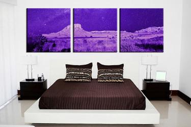 3 piece art, landscape group canvas, bedroom large pictures, blue landscape canvas photography