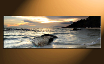 1 piece canvas wall art, home decor art, ocean canvas art print, ocean pictures,  huge pictures