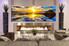 1 piece wall art, multi panel art, ocean large canvas, ocean huge pictures, living room photo canvas