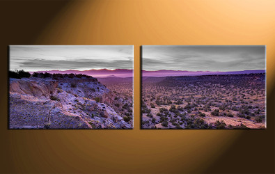 2 piece canvas photography, home decor art, landscape huge pictures, landscape wall decor