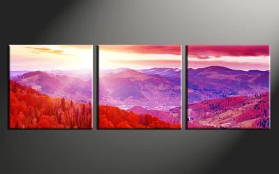 3 piece canvas photography, home decor art, landscape huge pictures, landscape wall decor