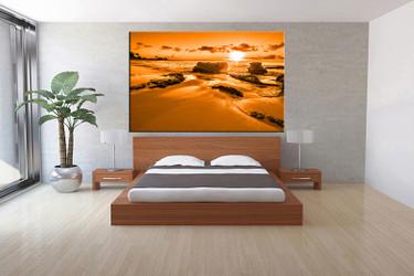 1 piece canvas art print, bedroom art, ocean art, ocean huge pictures, ocean artwork