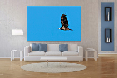 1 piece large pictures, living room canvas photography, wildlife multi panel art, bird pictures
