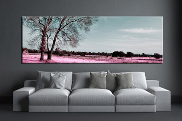 1 piece large pictures, living room canvas photography, scenery multi panel art, grey scenery wall art