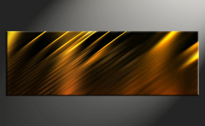 1 piece canvas wall art, abstract abstract pictures, golden home decor, abstract wall art