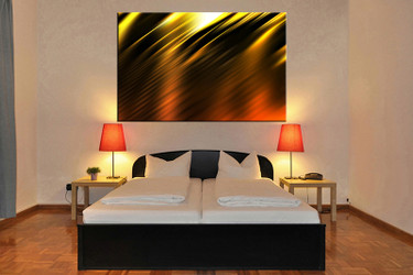 1 piece huge canvas art, abstract wall art, abstract canvas print, bedroom artwork