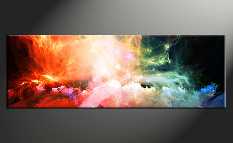 1 Piece Colorful Abstract Canvas Photography