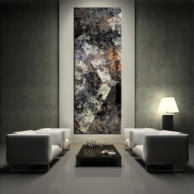 Grey Abstract Art