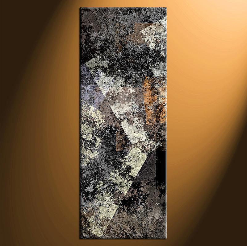 Gblack Grey Abstract Art