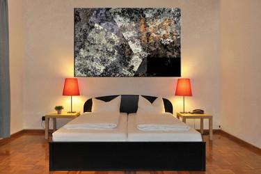 1 piece canvas wall art, bedroom abstract artwork, abstract pictures, abstract canvas print, abstract grey artwork