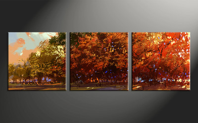 3 piece canvas photography, home decor art, scenery canvas wall art , scenery huge pictures
