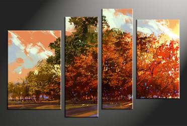4 piece canvas, home decor artwork, oil paintings scenery photo canvas, scenery canvas photography, scenery art