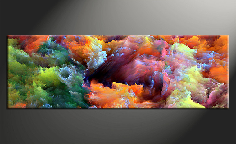 1 piece canvas photography, home decor art, colorful abstract canvas art print, abstract huge pictures