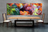 1 piece large canvas, dining room artwork, abstract canvas wall art, colorful abstract group canvas, abstract photo canvas