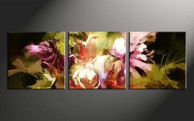 home decor,3 piece canvas art,  floral photo canvas, floral canvas photography, floral large pictures