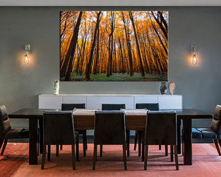 1 piece canvas wall, autumn scenery art, dining room pictures, scenery large pictures, scenery artwork