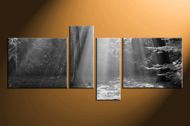 4 piece wall art, home decor black and white artwork, black and white pictures, black and white canvas wall art, black and white  huge pictures
