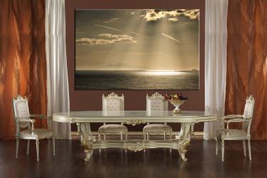 1 piece wall decor, dining room canvas photography, ocean artwork, ocean photo canvas