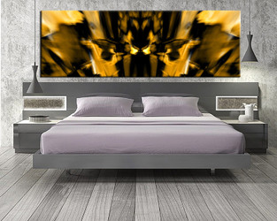 1 piece art, abstract group canvas, bedroom large pictures, yellow abstract huge canvas print