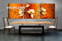 3 piece wall decor, dining room canvas photography, oil paintings floral artwork, floral photo canvas
