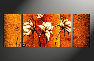 home decor,3 piece canvas art,  floral photo canvas, floral canvas photography, oil paintings floral large pictures