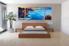 3 piece canvas art , bedroom art, ocean multi panel art, oil paintings ocean huge pictures, blue ocean artwork