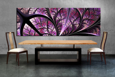 dining room decor, 1 piece wall art, purple modern pictures,  modern wall decor, modern canvas print