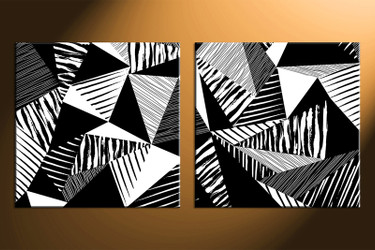home decor, 2 piece huge canvas art ,  black and white photo canvas, oil paintings abstract canvas photography, abstract large pictures