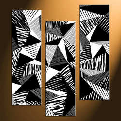 home decor, 3 piece canvas photography, black and white wall art, abstract canvas photography, oil paintings huge pictures