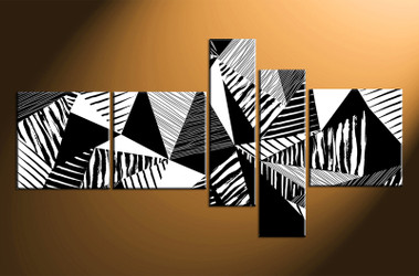 5 piece canvas wall art, home decor art, oil paintings canvas wall art, black and white pictures, oil paintings huge pictures