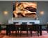 1 piece canvas wall art, animal canvas print,  animal art, lion dining room canvas photography