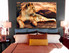 1 piece canvas wall art, bedroom art print, animal large canvas, lion animal huge canvas art