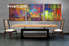 3 piece large canvas, dining room wall art,abstract pictures, colorful abstract canvas photography, oil paintings abstract art