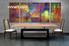 3 piece large canvas, dining room wall art,abstract pictures, colorful abstract canvas photography, oil paintings art
