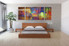 3 piece canvas wall art, bedroom art, abstract colorful multi panel art, abstract oil paintings huge pictures