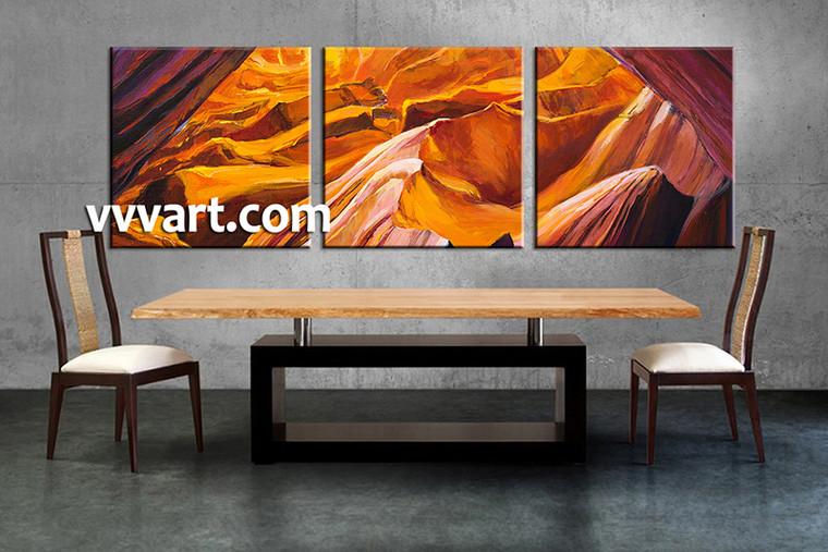 3 piece wall decor, dining room canvas photography, landscape artwork, oil paintings landscape photo canvas