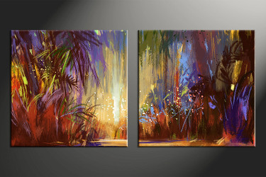 home decor,2 piece canvas wall art, colorful scenery photo canvas, scenery canvas photography, scenery oil paintings large canvas