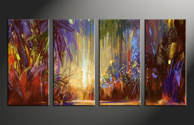 4 piece photo canvas, home decor artwork, scenery colorful multi panel canvas, scenery oil paintings canvas photography