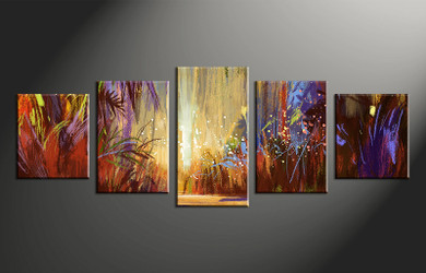 home decor,5 piece canvas wall art,  scenery photo canvas, colorful scenery canvas photography, scenery oil paintings large pictures
